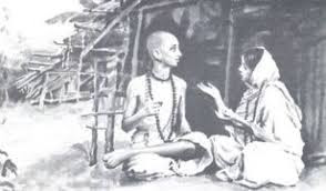 Sudama with his wife