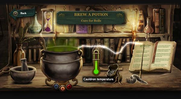 Pottermore Potions