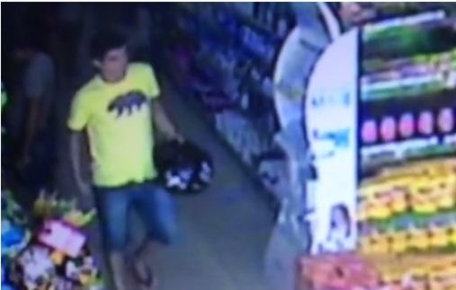 Assalto ao Mercadão é registrado por câmeras de vigilância em Santa Cruz do Capibaribe