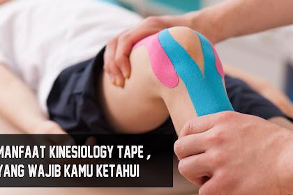 Manfaat Kinesiology Tape, Yang Wajib Di ketahui Runners