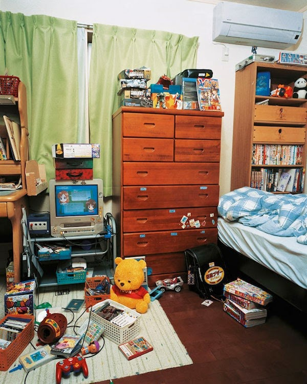 16 Children & Their Bedrooms From Around the World - Ryuta, 10, Tokyo, Japan - Ryuta's Room