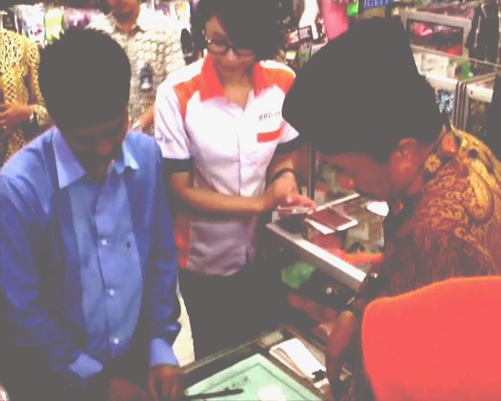 Launching BRILink, Bupati Jombang :Cegah Korupsi Manfaatkan Transaksi Perbankkan