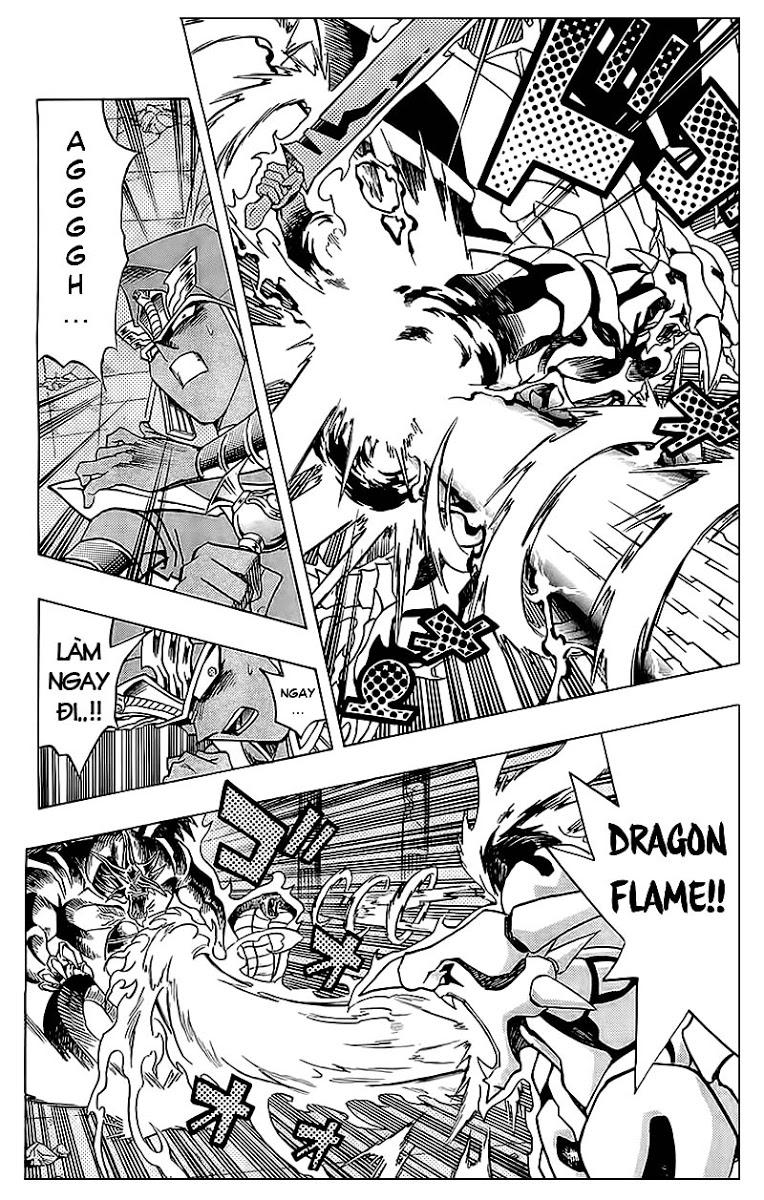 YUGI-OH! chap 318 - cùng nhau chống lại bóng tối trang 12