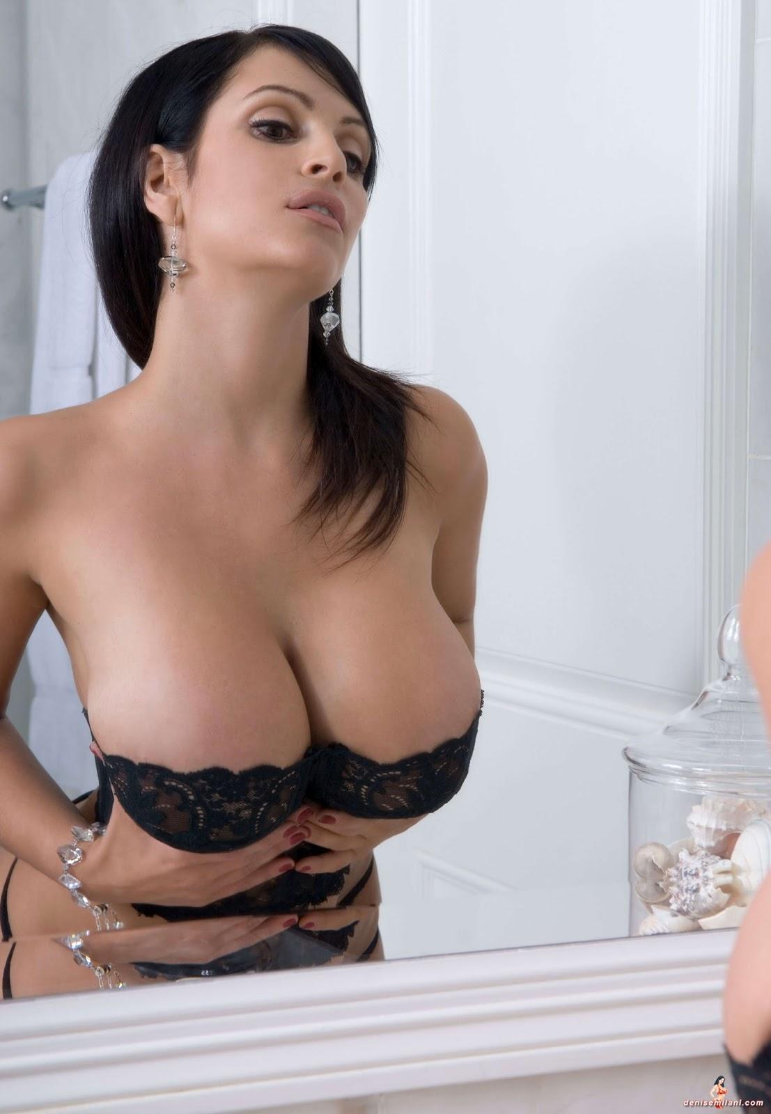 Denise Milani Shows Tits 89