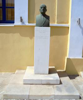 Η προτομή του Γεώργιου Μελισσηνού στη Νάξο