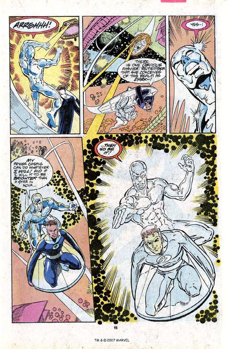 Read online Silver Surfer (1987) comic -  Issue #16 - 17
