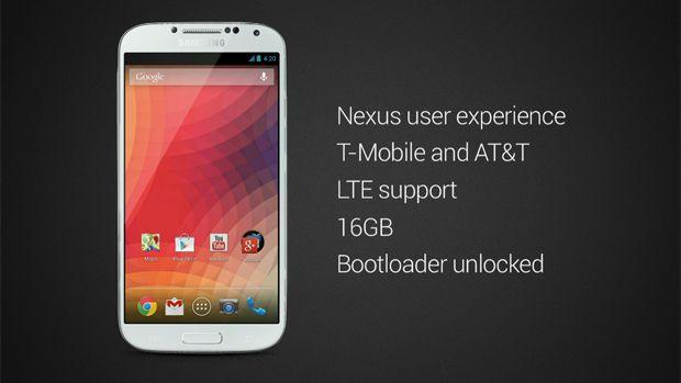 Galaxy S4 com Android puro é apresentado durante evento do