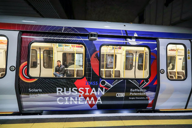 Heart of Russia train london