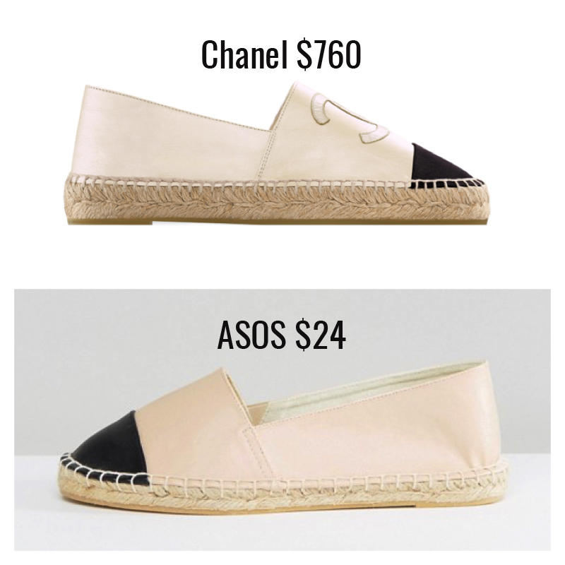 483adb9b0 ASOS is killing it with the designer dupe shoes. These are so spot on that  the only thing really ...