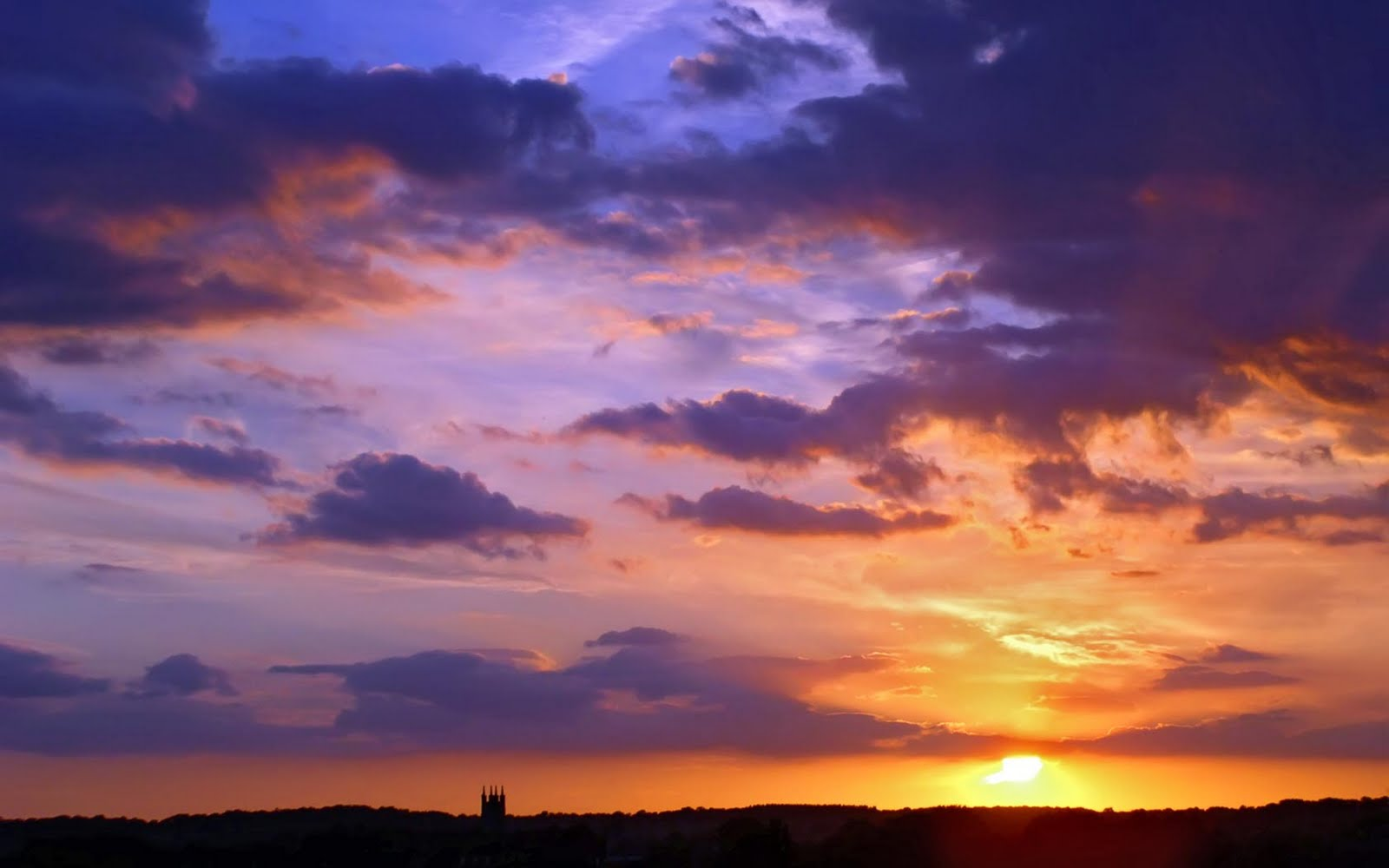 Wallpapers: Blue Sky Wallpapers Images