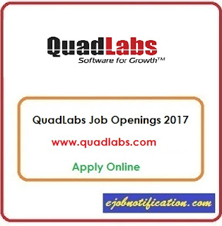 Application Engineer Fresher Openings at QuadLabs Jobs in Gurgaon Apply Online