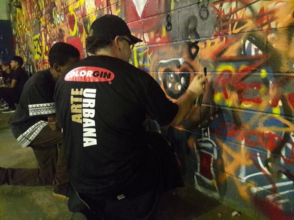 Graffiti e esporte agitam as comunidades da Brasilândia, Heliópolis, Rio Pequeno e Paraisópolis em São Paulo