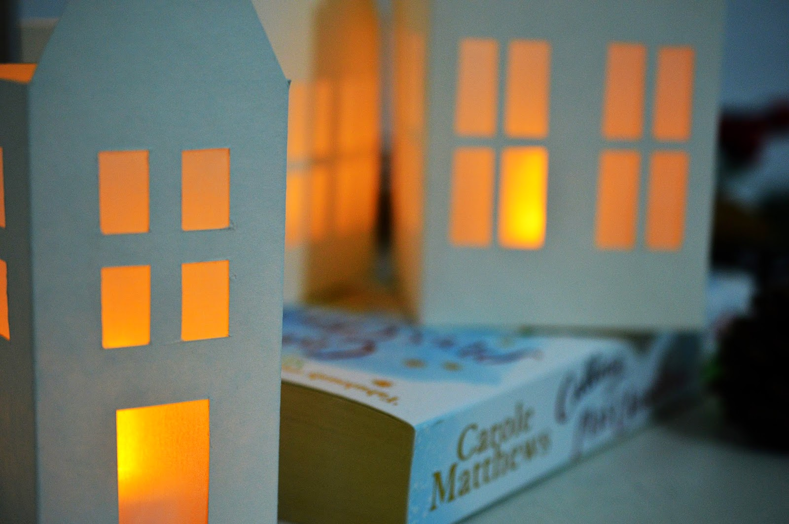 DIY Paper House Lanterns | Motte's Blog