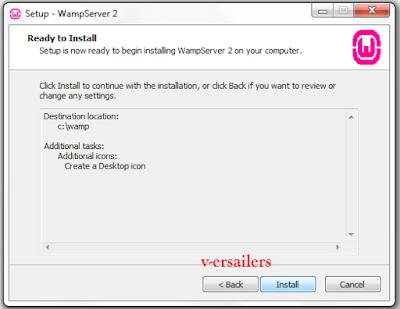 cara instal wamp server 32 64 bit windows xp 7 8 10  untuk website php mysql lokal. Download wampp server portabel mudah menginstal localhost pada komputer laptop atau pc.   Wamp server mudah digunakan dam mudah diinstal. jika anda masih bingung untuk menginstalnya. saya akan memberikan step by step bagaimana cara instalasi wampserver 2.5 2.2