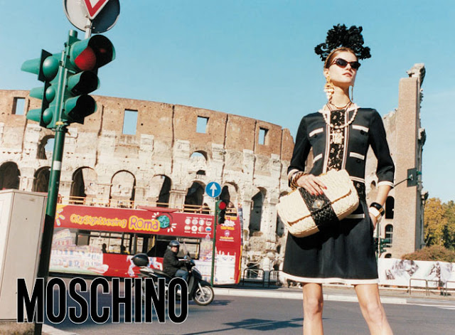 Moschino Spring Summer 2012 Adv campaign