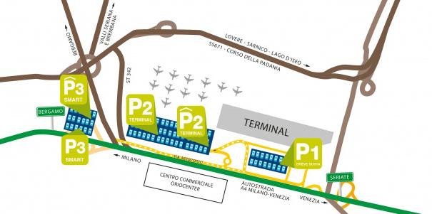 parcheggio aeroporto bergamo orio al serio