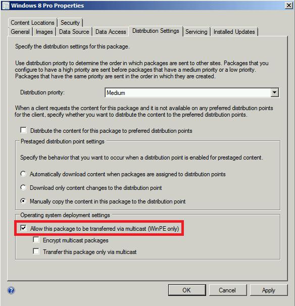 Henk's blog: Multicast error 0x80091007 during deployment