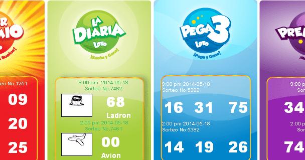 Resultados La Diaria Pega3 Y Premia2 Para El Domingo 18 5 14 Loterias Resultados