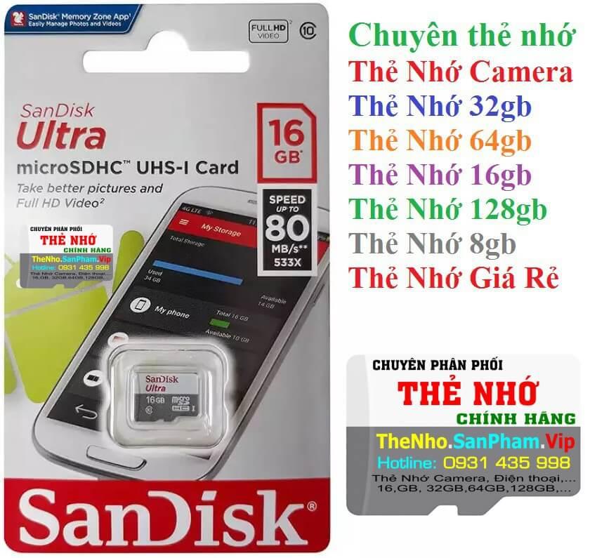 Thẻ nhớ SanDisk UHS-I