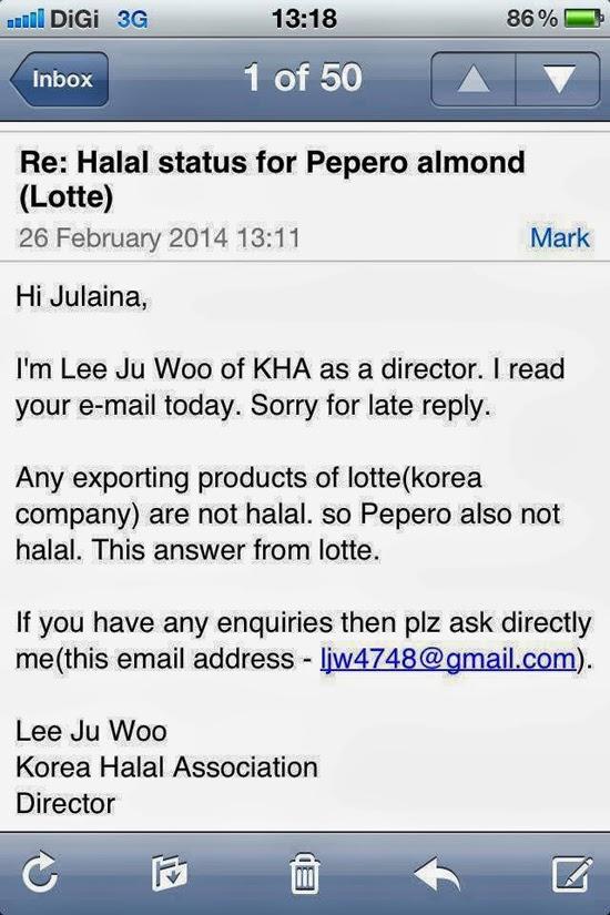 Jawapan Haram Pepero Korea