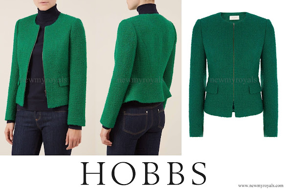 Kate Middleton wore Hobbs Green Sinead Jacket