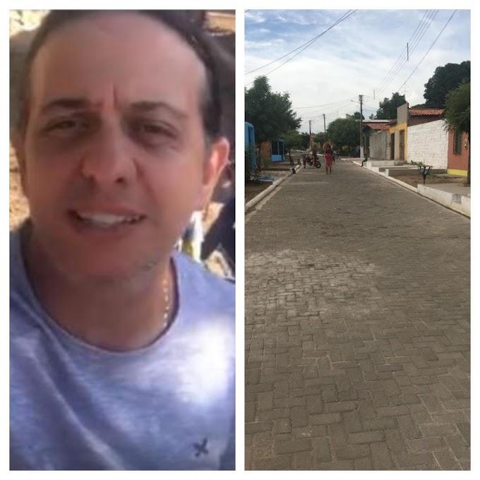 INOVAÇÃO - Prefeitura de Caxias inova com calçamento intertravado e dá visibilidade à Vila São José