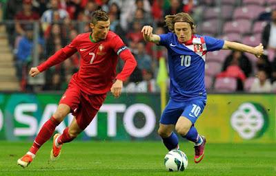 اهداف مباراة البرتغال وكرواتيا اليوم السبت 25 يونيو 2016 وملخص كورة يوتيوب نتيجة لقاء زملاء كريستيانو رونالدو في ثمن نهائي يورو 2016