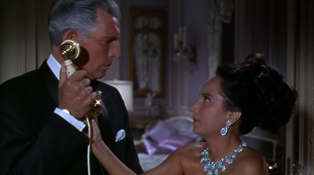 Michael Rennie and Merle Oberon as the Duke and Duchess