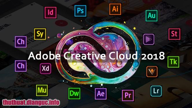Fshare Tổng hợp Phần mềm Adobe CC 2018 Full cr@ck