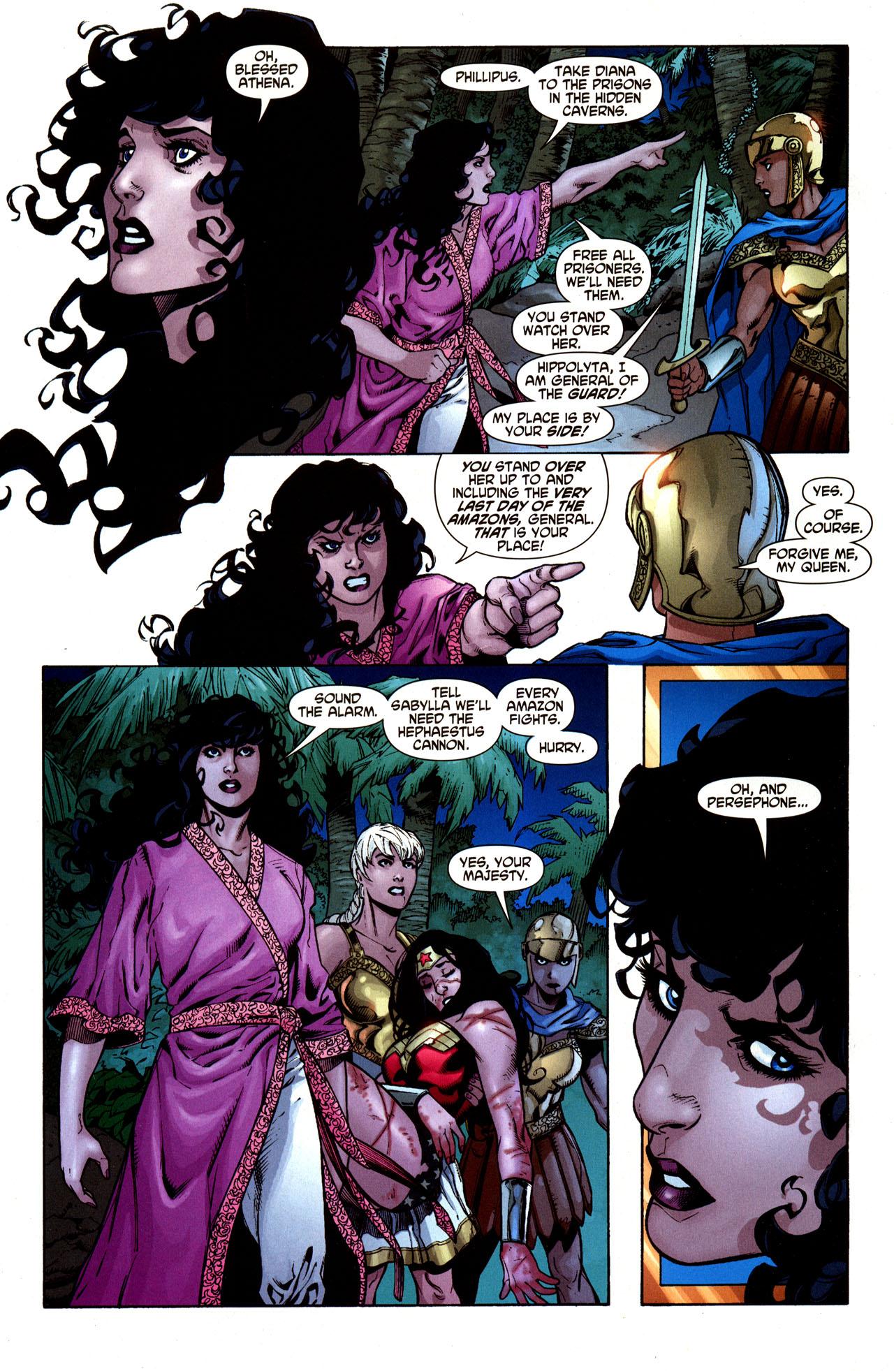 Read online Wonder Woman (2006) comic -  Issue #33 - 5