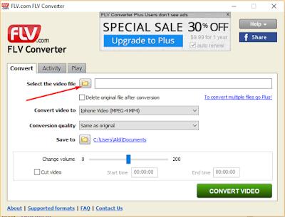 Cara Convert File FLV Jadi MP4 Gratis