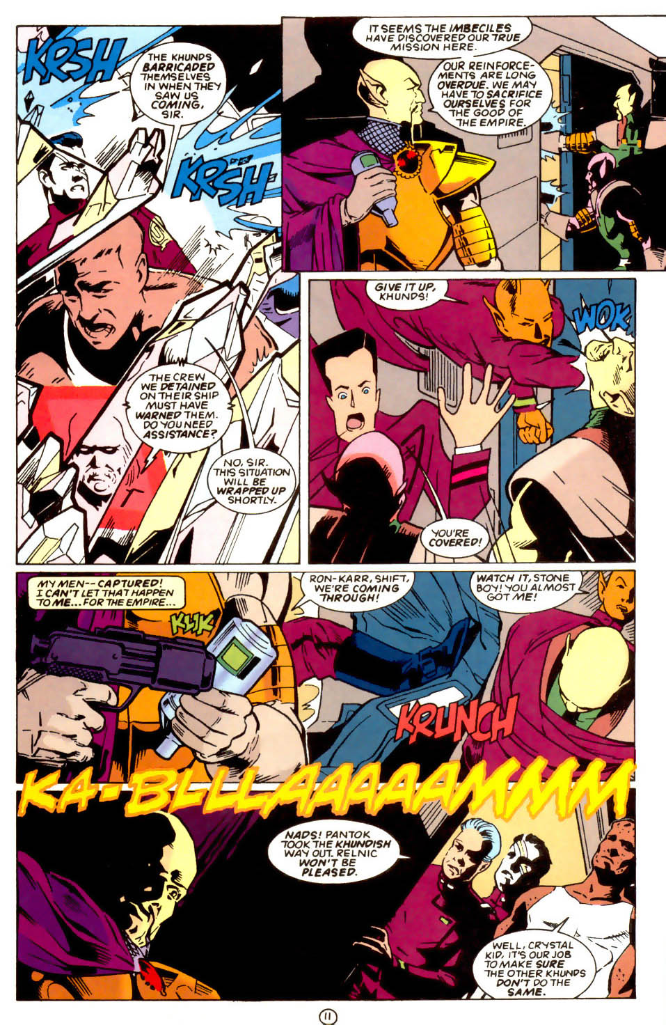 Legion of Super-Heroes (1989) 58 Page 11