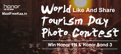 World Tourism Day - Photography Contest Win Honor 9N