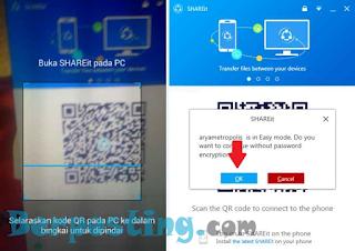 Cara Mengirim File Dari Android Ke PC Menggunakan Shareit