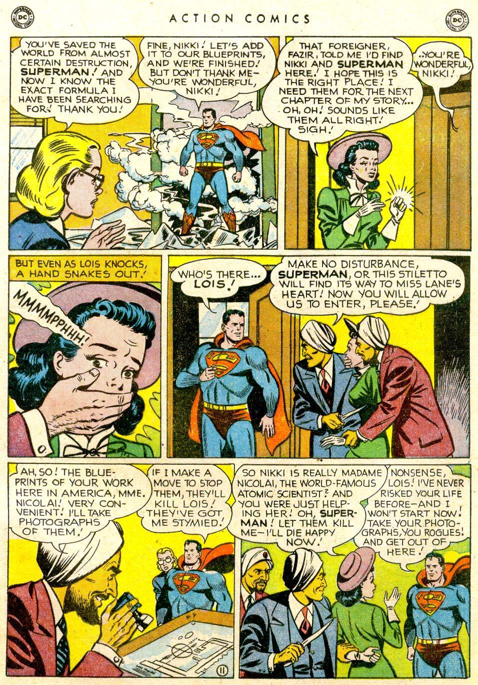 Action Comics (1938) 143 Page 11