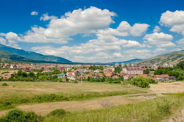 Bitola panorama, Macedonia