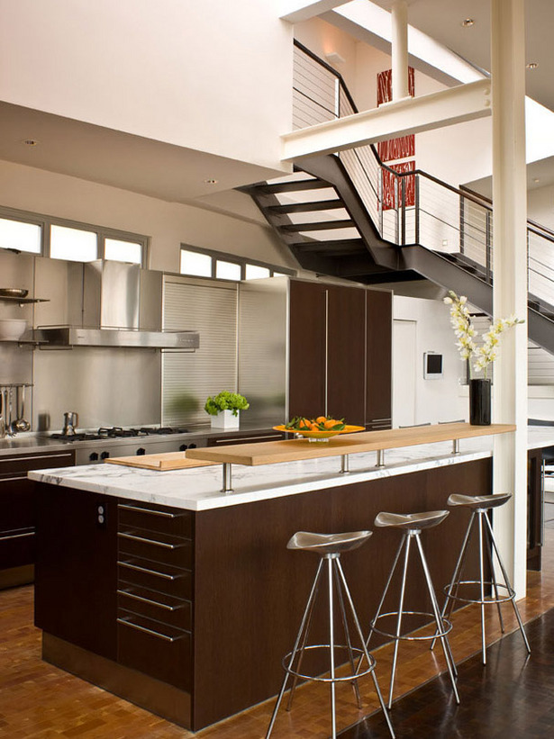 Kitchen Styles: Open Kitchen Interior Design