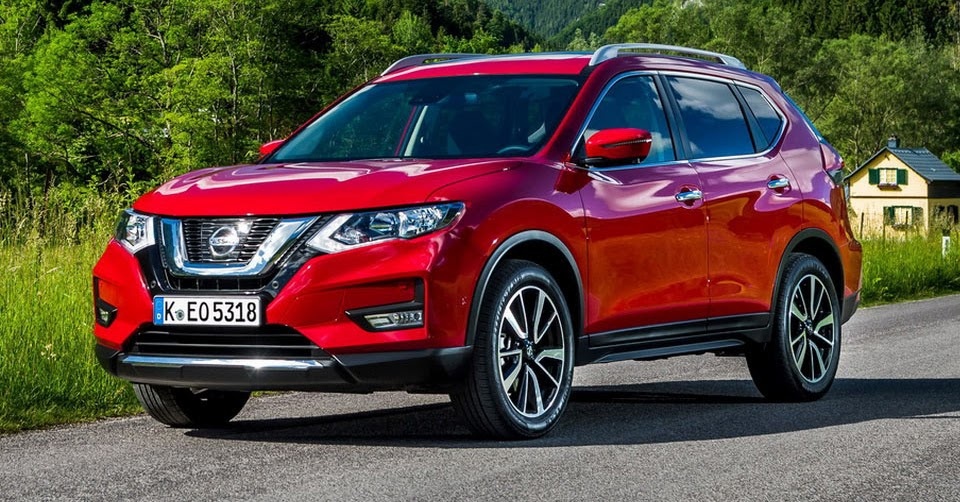 updated 2017 nissan x trail ready to hit europe 30 pics. Black Bedroom Furniture Sets. Home Design Ideas