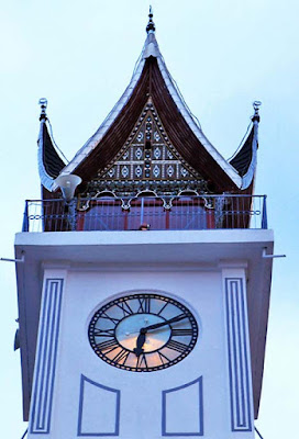 The Mystery of 'Jam Gadang' in West Sumatra Minangkabau