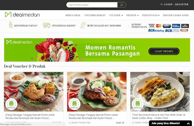 Startup Diskon Manakan Medan DealMedan
