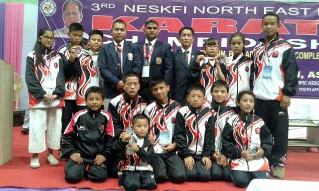 Darjeeling Karate kids bags medals in North-East India Karate-Do Championship 2015 Assam