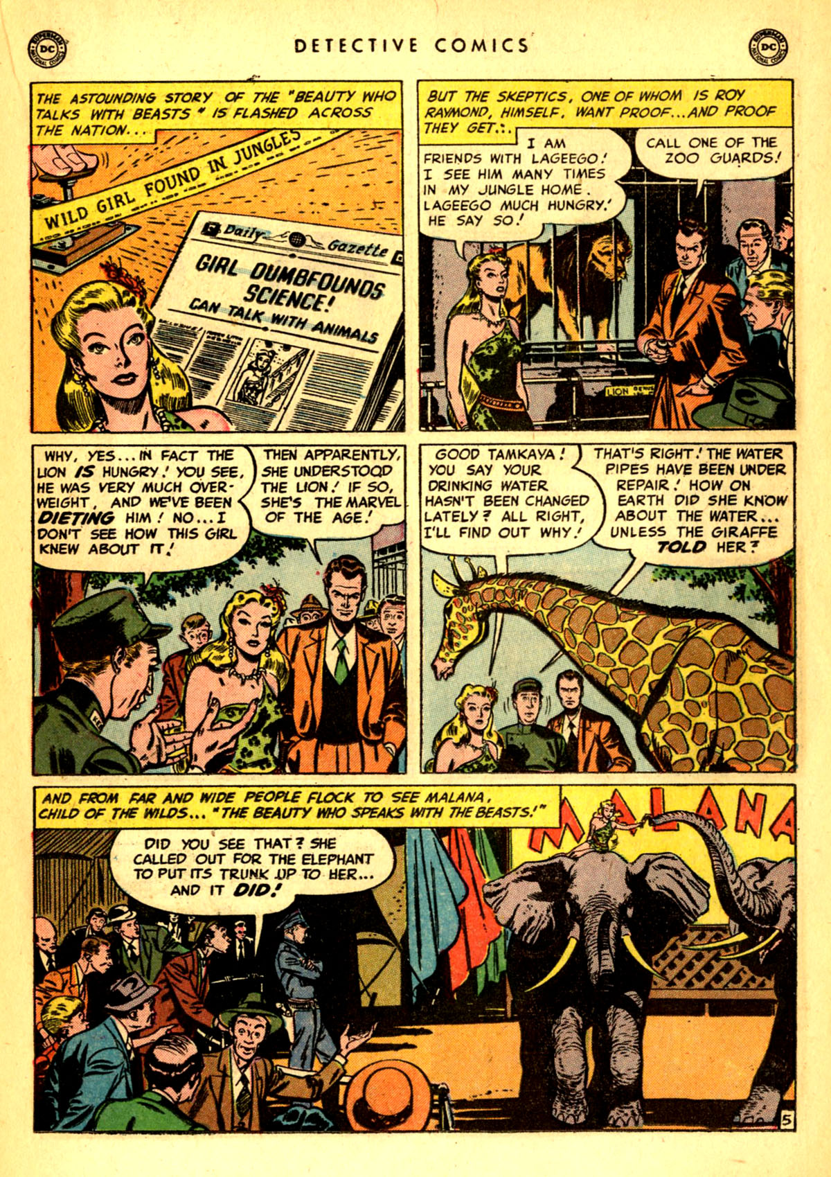 Read online Detective Comics (1937) comic -  Issue #156 - 21