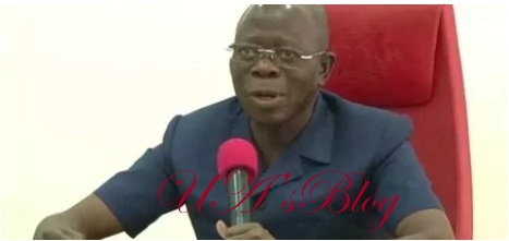 If money diverted under Jonathan regime is equally shared, all Nigerians would have been rich - Oshiomhole
