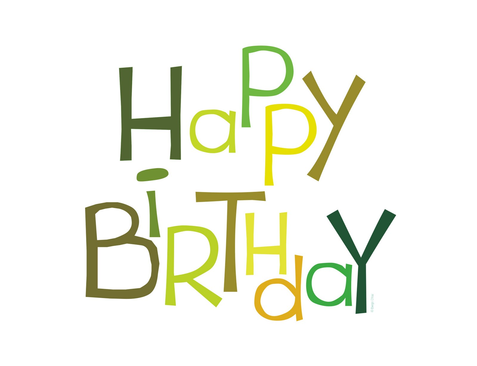 Happy Birthday Bubble Letters Related Keywords ...