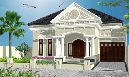 Rumah Klasik Modern 1 Lantai | Gambar Rumah Minimalis