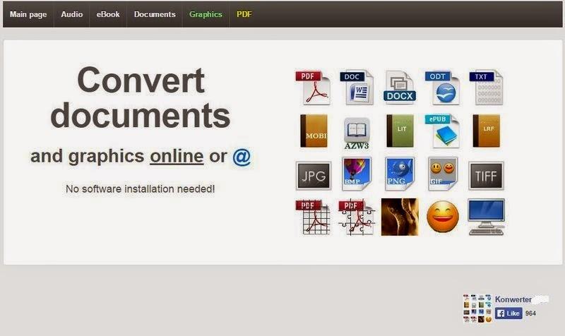 موقع لتحويل كافة أنواع الملفات اونلاين مجاناً : Website-to-convert-all-types-of-files-online-for-free