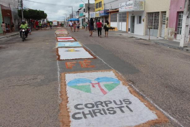 Confira a programação da Celebração de Corpus Christi em Delmiro Gouveia, divulgada pela Paróquia de Nossa Senhora do Rosário