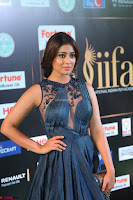 Shriya Saran in Beautiful Transparent Dark Gown IIFA Utsavam Awards 2017 013.JPG