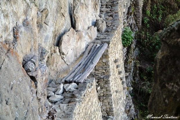 Machu Picchu, ponte inca