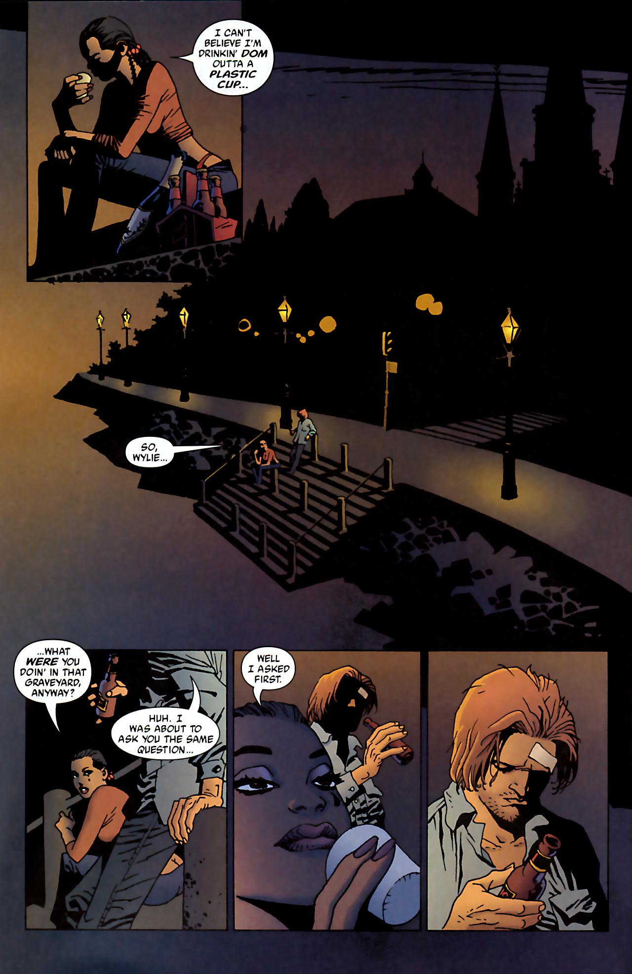 Read online 100 Bullets comic -  Issue #52 - 7